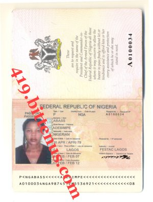 PASSPORT Officer
