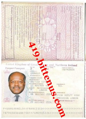 London international passport