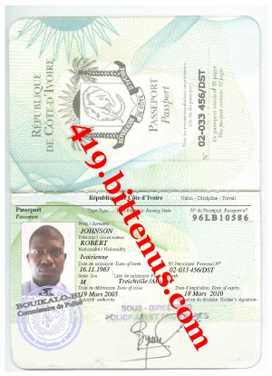 Robert Passport