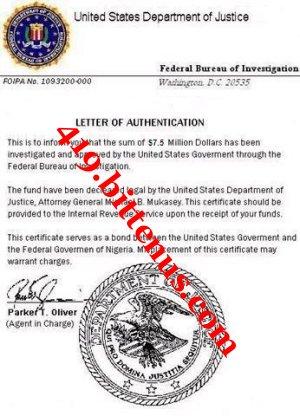 Cover Letter Fbi Fingerprint