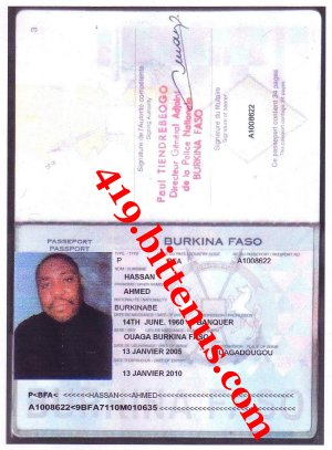 Mr Hassan Ahmed International Passport