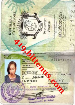 My passportsarah