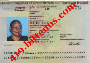 Passport  int.  mrs.  green
