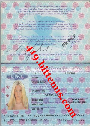 iNTER PASSPORT SUSAN