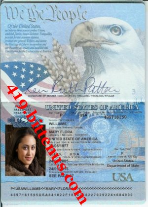 MARY'S PASSPORT