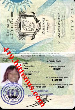 PASSPORT MISS LINDA