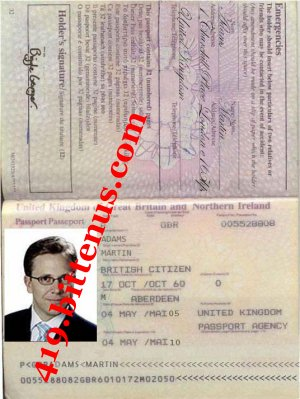 PASSPORT-ADAMS MARTIN