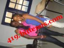 me and my friend Aminata in the school library