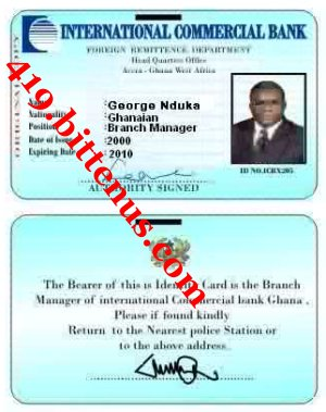 George Nduka Working ID