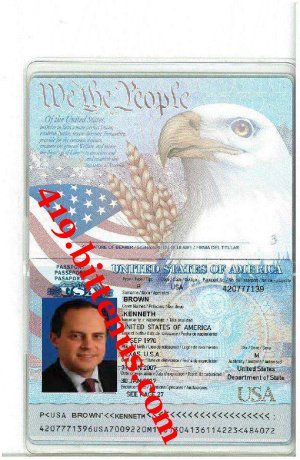 KENNETH BROWN INTERNATIONAL PASSPORT