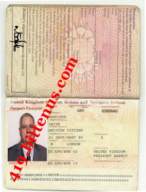 INTERNATIONAL PASSPORT MANKINZE SMITH
