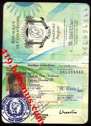 PASSPORT SANDRA