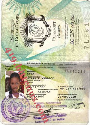 MY PASSPORT STEPHIE