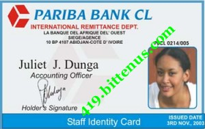 PARIDA BANK ID