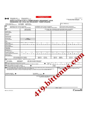 419CANADIAN_VISA_APPLICATION_FORM_1__Page_1 Application Form To Apply For Canada Visa on