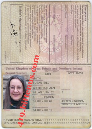 MY INTERNATIONAL PASSPORT 1
