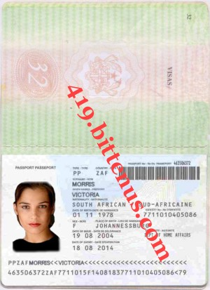 Vic International Passport