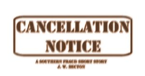 Image result for cancellation  notice