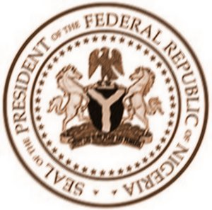Seal of The President of The Federal Republic of Nigeria.