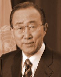 Ban Ki-moon , the Secretary-General of the United Nations