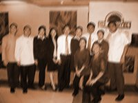 Inky with the Days Hotel Officers and Staff. Front row: Mae Gengco and Jose Irisari, Kitchen Managers. Back row: Ronnie Simpas, The Promenade, Restaurant Manager; Edzel Diaday, Admin. & Compliance Officer; Rose Beso, Housekeeping Manager; April Orola, HR Officer; Kryztof Carillo, F&B Manager; Honeybelle Portillo, Wellness Club Spa and Gym Manager; Scott Sarria – Manager; Joyce Calisa, Accountant; and Inky Dario, General Manager.